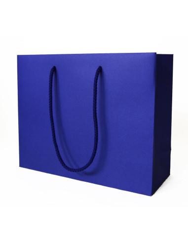 50 Sacs boutique luxe bleus