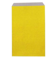1500 sachets papier jaune 16,5 x 28 cm