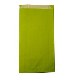 1000 Sachets kraft vert clair 12 + 3,5 x 21