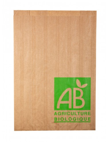 Sachets à fruits et légumes en papier 2kg AB